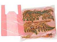 Пакеты Green Line 24х43 ( 200 шт. ) ( 25 уп. в мешке ) цена за 1 уп.
