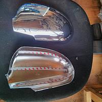 Хром накладки на зеркала на Хьюндай I-30 с 07-11 (хром пластик) Корея.