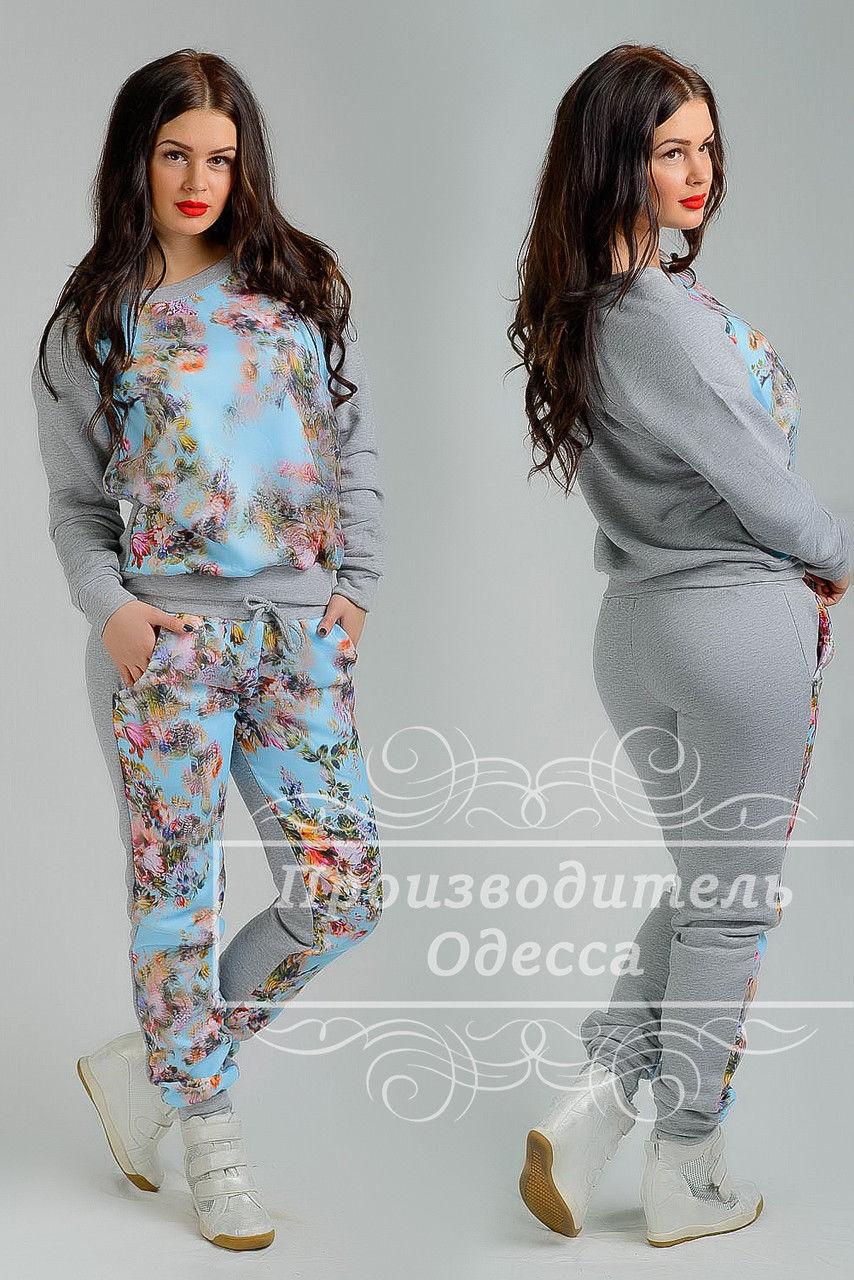 f3ac04c40b9e Спортивный костюм с цветочным принтом  продажа, цена в Одессе ...