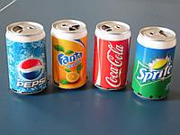 Портативная компактная колонка Coca-Cola