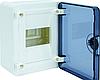 VS104TD Щит GOLF 4-модуля с прозрачными дверями VS104TD (накладной монтаж), 4 мод. (1х4), GOLF