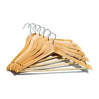 Вешалка плечики тремпель для одежды набор 6 шт