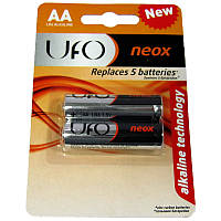 Батарейка      LR6    UFO  NEOX  блистер по 2 шт