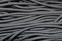 Шнур 6мм плотный (100м) т. серый