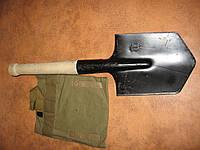 Лопатка Солдатская саперная с чехлом в комплекте, фото 1