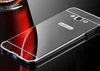 Чехол бампер для Samsung Galaxy A5 A500 зеркальный Уценка