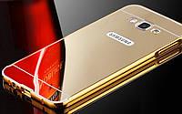 Чехол бампер для Samsung Galaxy Grand Prime G530H  / J2 Prime зеркальный Брак