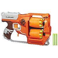 Бластер Nerf Zombie Strike FlipFury Blaster Нерф Переворот A9603
