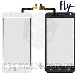 Сенсорный экран для Fly IQ456 Era Life 2, белый, оригинал