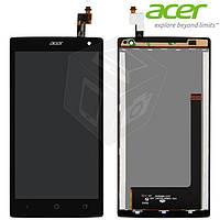Дисплей + сенсорное стекло (touchscreen) для Acer Liquid Z5 Z150 Dual Sim, черный, оригинал