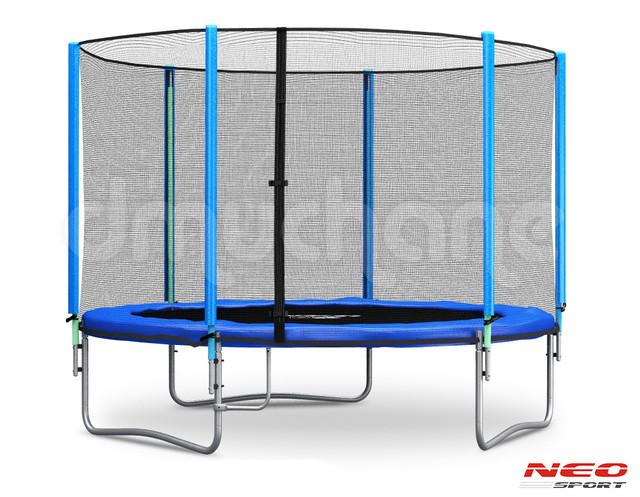 Батут с сеткой и лестницей 183 см (6 ft) бренда Neo Sport