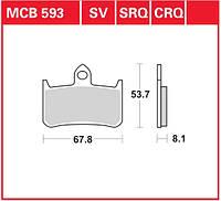 Тормозные колодки на Honda TRW / Lucas MCB593SV