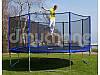 Батут с сеткой и лестницей 374 см (12 ft) бренда Neo Sport, фото 5