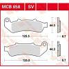 Honda CBR1000F тормозные колодки комплект TRW / Lucas MCB658SV