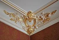 Монтаж декор лепнины (патинирование, искусственное старение, нанесение декоративных покрытий.