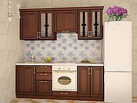 Кухня модульная София 2200 мм, дерево