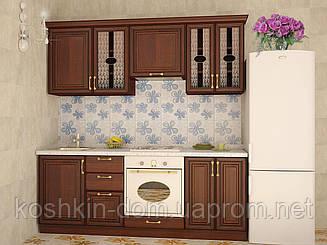 Кухня модульная София  дерево