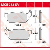 Тормозные колодки для Harley-Davidson TRW / Lucas MCB753SV