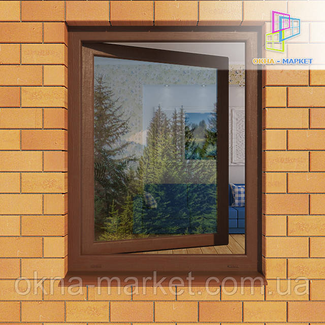 Одностворчатое ламинированное окно ― компания