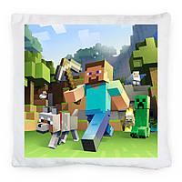 Подушка Стив (Minecraft)