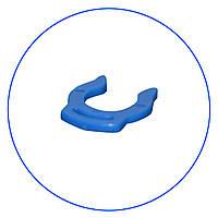 """Клипса, зажим для фитингов быстрого соединения 1/4"""" (синий). A4LC-BL"""