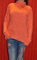 Теплый и модный свитер