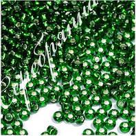 Бисер зеленый 57120 Чехия Preciosa