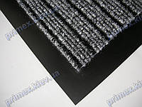 Коврик грязезащитный Широкий рубчик, 40х60см., серый