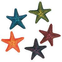 Декорація для акваріума Trixie Набір морських зірок, 9 см (12 шт).