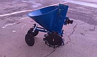 Картофелесажалка КСМ-1Ц однорядная (Синяя)
