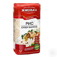"Рис шлифованый ""Басмати"" Жменька 1 кг"
