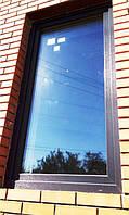 """Одностворчатое ламинированное окно с установкой - """"Окна Маркет"""". Заводская ламинация, гарантия 5 лет!"""