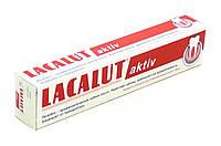 Зубная паста от пародонтоза и кровоточивости десен Lacalut Aktiv 50 мл
