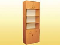 Шкаф книжный, с 2 ящиками
