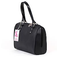 Женская сумка №1342m классическая прямоугольная черная