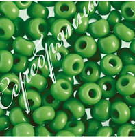 Бисер зеленый 53210 Чехия Preciosa