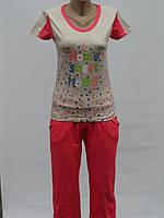 Женская пижама с бриджами