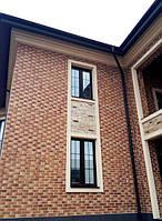 Ламинированные окна с наружной ламинацией и шпроссами. (098) 777-31-49