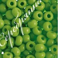 Бисер зеленый 53410 Чехия Preciosa