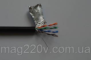 Кабель витая пара FTP  CU 305м экранированный для наружной прокладки 4x2x0.50mm.