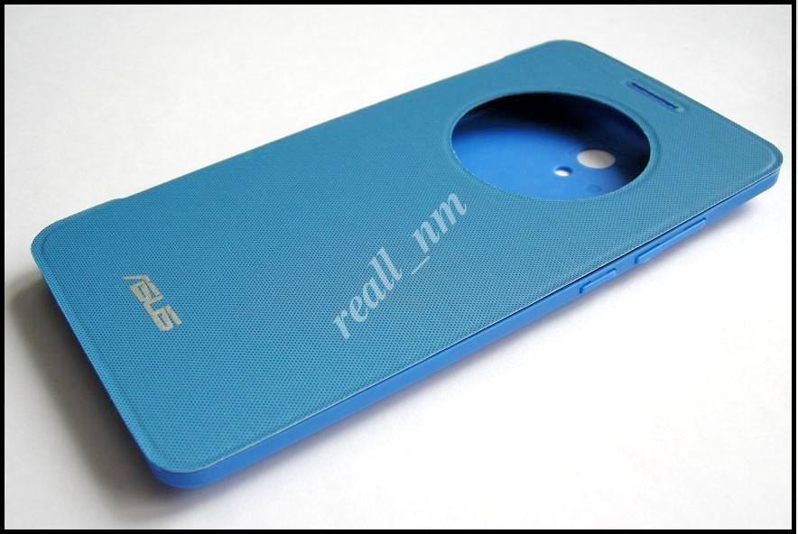 Синий чехол View Flip Cover для смартфона Asus ZenFone 6