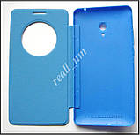 Синий чехол View Flip Cover для смартфона Asus ZenFone 6, фото 4