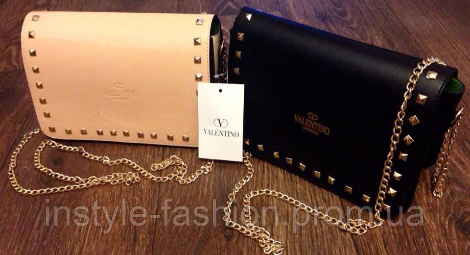 Сумка клатч через плечо Valentino 15 Valentino Валентино сумки