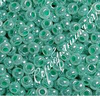 Бисер светло-зеленый 37358 Чехия Preciosa