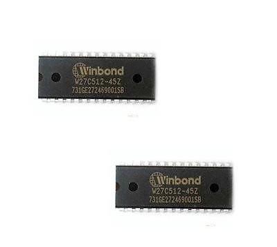 Чип W27C512-45Z 27C512 DIP28, EEPROM память