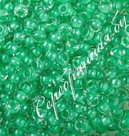 Бисер светло-зеленый 38656 Чехия Preciosa