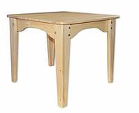 Детский столик из дерева от 2 лет