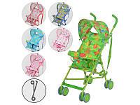 Детская прогулочная коляска-трость Bambi M 1702, 6 цветов
