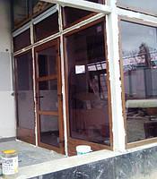 """Ламинированные окна, двери в профиле Rehau с установкой - компания """"Окна Маркет"""""""