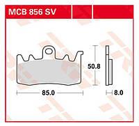 Тормозные колодки комплект на мотоцикл/трайк TRW / Lucas MCB856SV